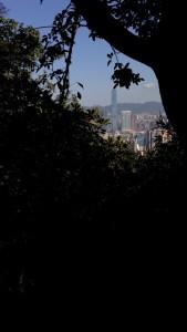 På vei opp til Victoria's Peak; jungle-time!