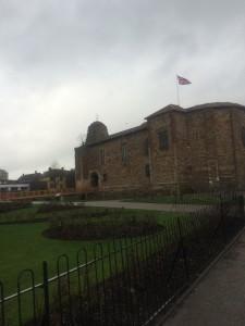 Colchester Castle. Universitetet i Essex ligger i utkanten av byen Colchester, som er UKs eldste daterte by.