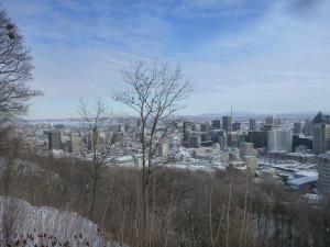 Utsikt fra Mont Royal