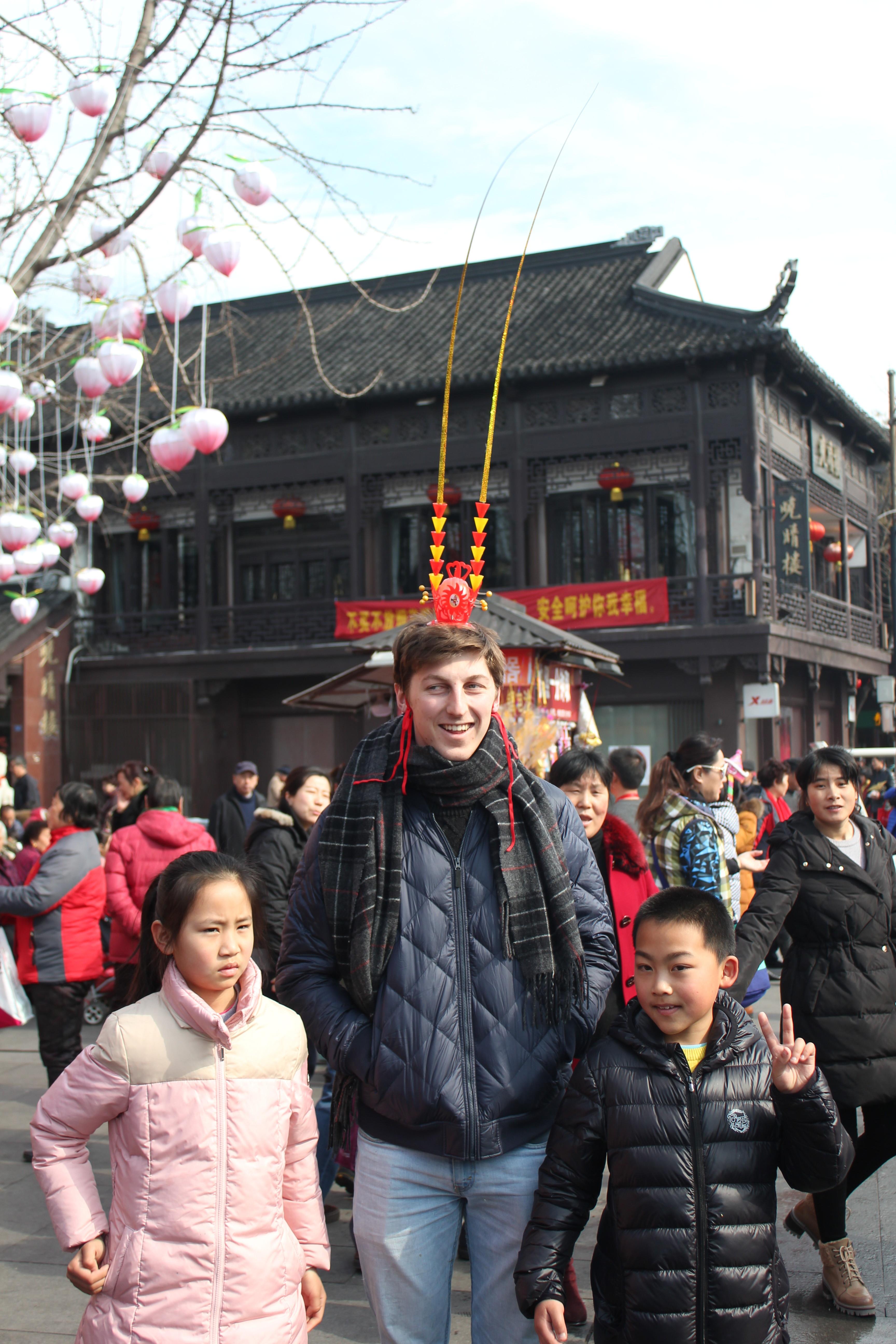 Photoshoot med kids i Nanjing