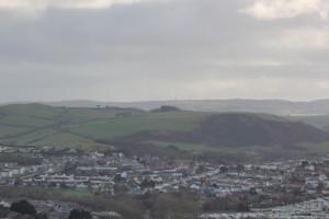 Aberystwyth sett fra Constitution Hill.
