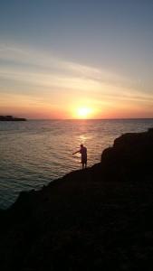 Solnedgang i Varadero