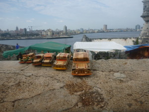 Utsikt med new Havana til venstre og old Havana til høyre