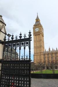 Westminister med Big Ben.