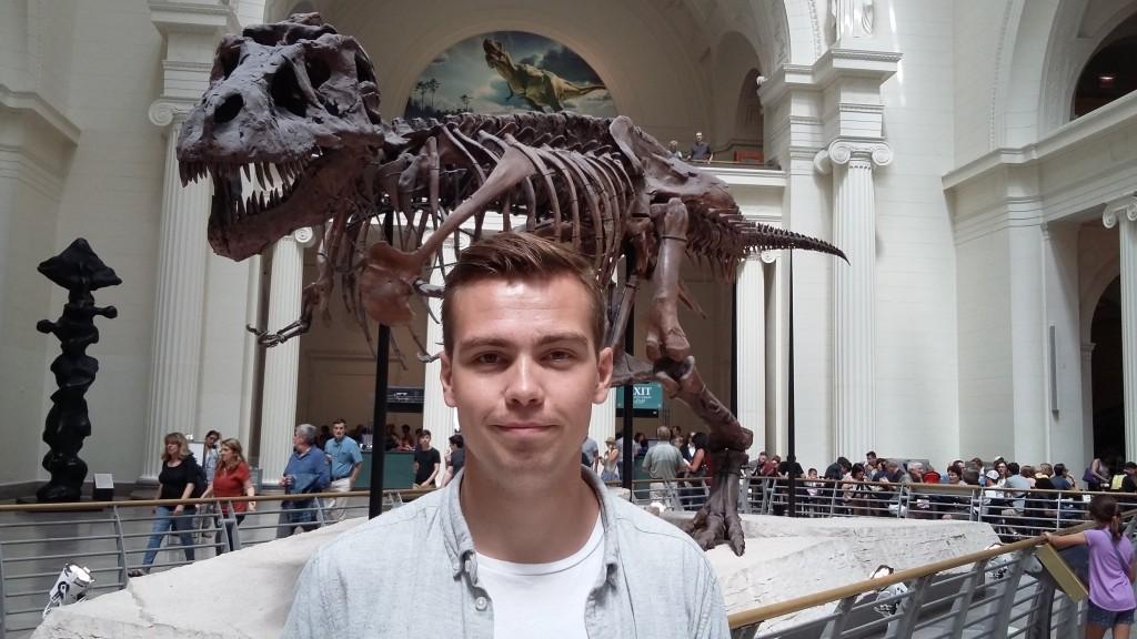 En av verdens best bevarte Tyrannosaurus Rex-skjelletter står utstilt på Field Museum i Chicago.