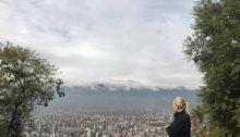 Utsikt Santiago