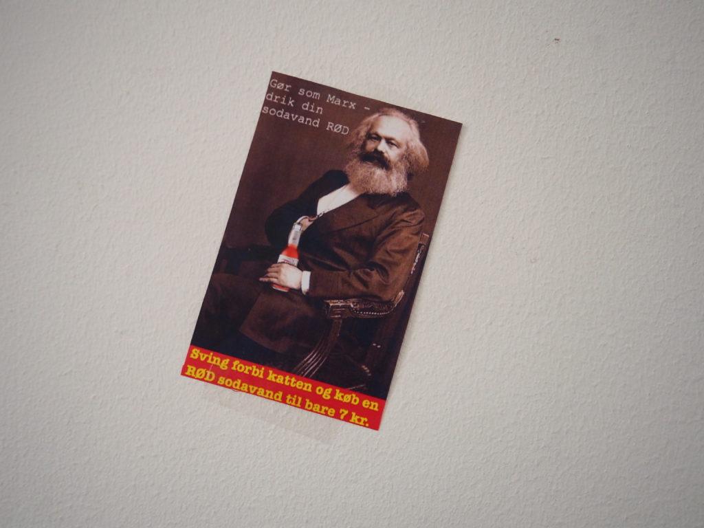 Marx vil selge deg brus